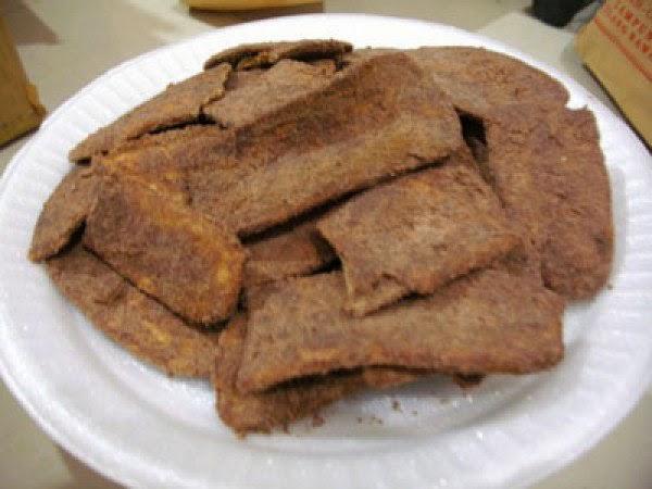 kripik pisang cokelat