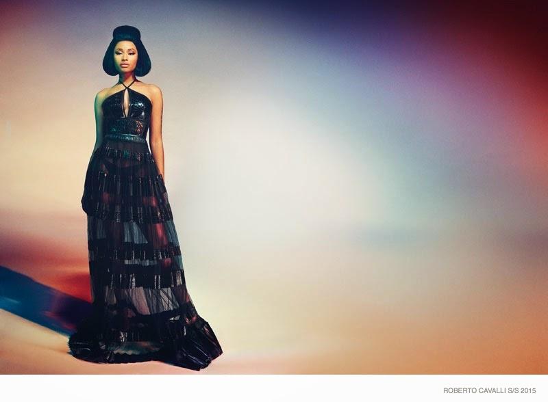 Nicki Minaj stars for a glamorous Roberto Cavalli Spring/Summer 2015 Campaign