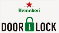 The Door Lock Heineken