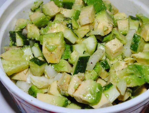 Салат из авокадо рецепты