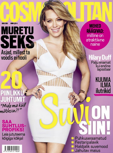 Singer, Actress @ Hilary Duff - Cosmopolitan  Estonia, July 2015