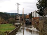 Canal d'aigua cap a la Rabeia