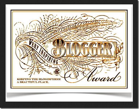 Inspiring Blogger Award gekregen...