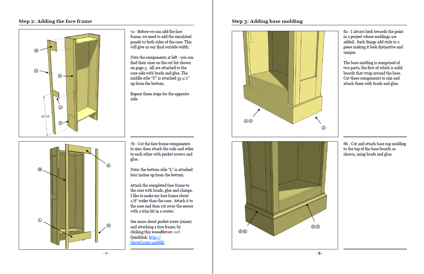 Bookcase Plans Woodworking Plans PDF blueprints for a
