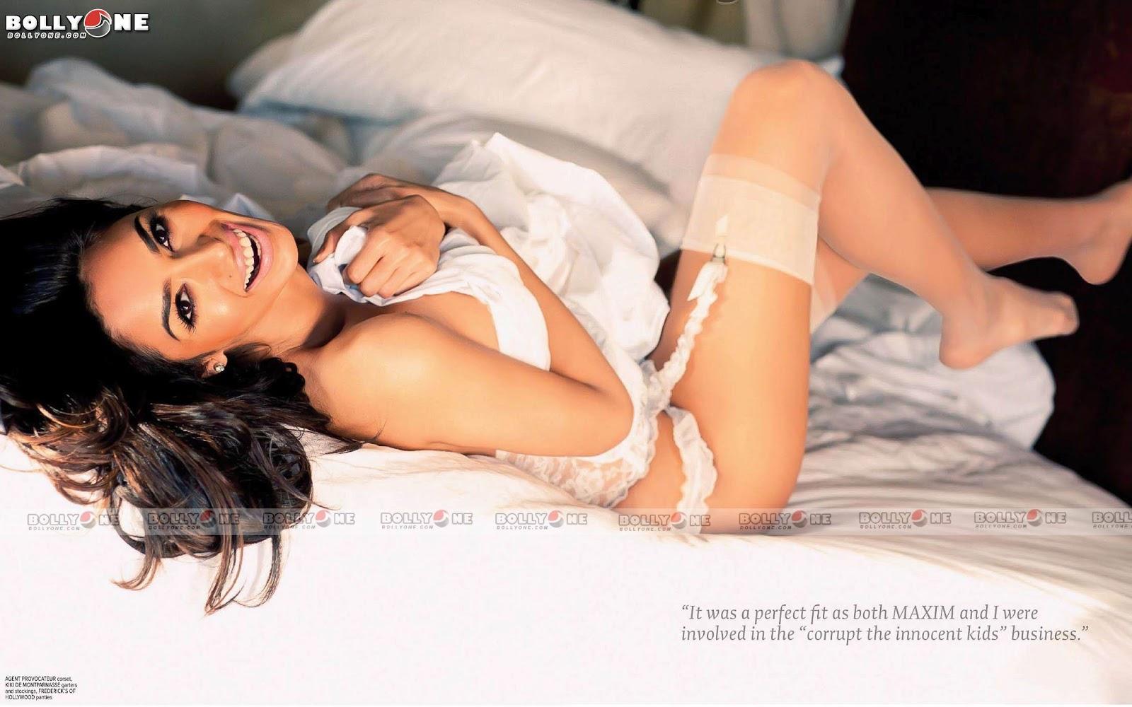 Mallika sherawat bikini pics in maxim right!