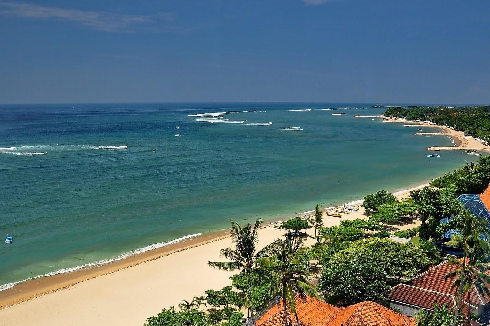 Nature wallpaper sanur beach bali indonesia for Best beach hotels in bali