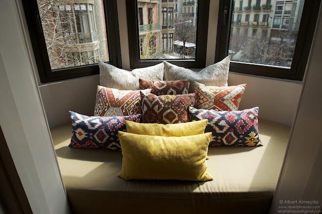 Detalle galería de una habitación del Hotel Alexandra