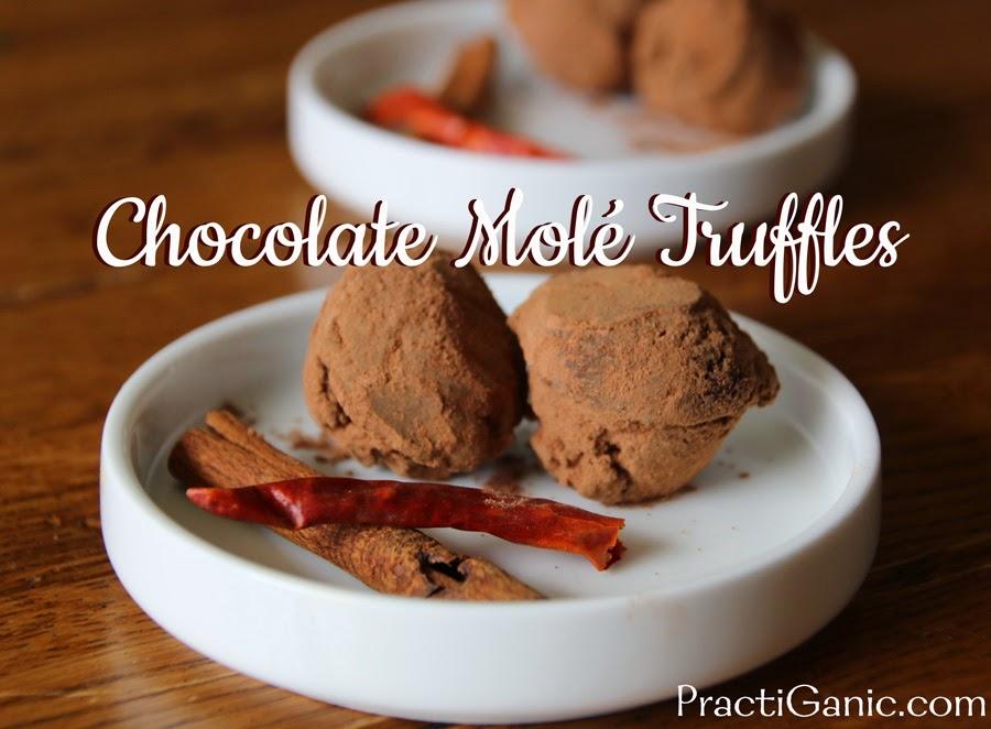 Chocolate Mole Truffles