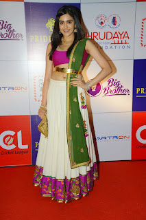 Actress Adah Sharma Latest  Pictures at CCL 5 Charity Dinner  2.JPG