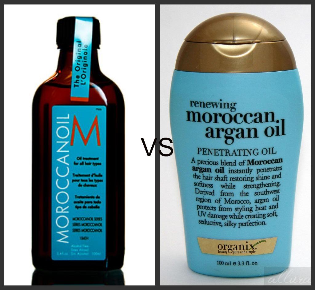 Moroccan Oil VS Drustore Brand MoroccanArgan Oil