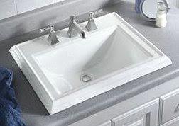 ada kohler ladena self rimming bathroom sink