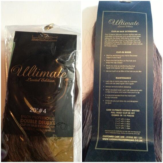 Chantelleilace Lush Hair Extensions Ultimate Full Head