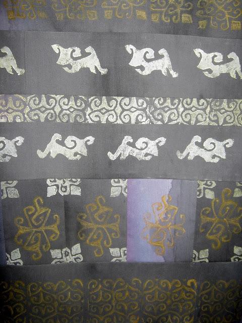fabric stamping tutorial