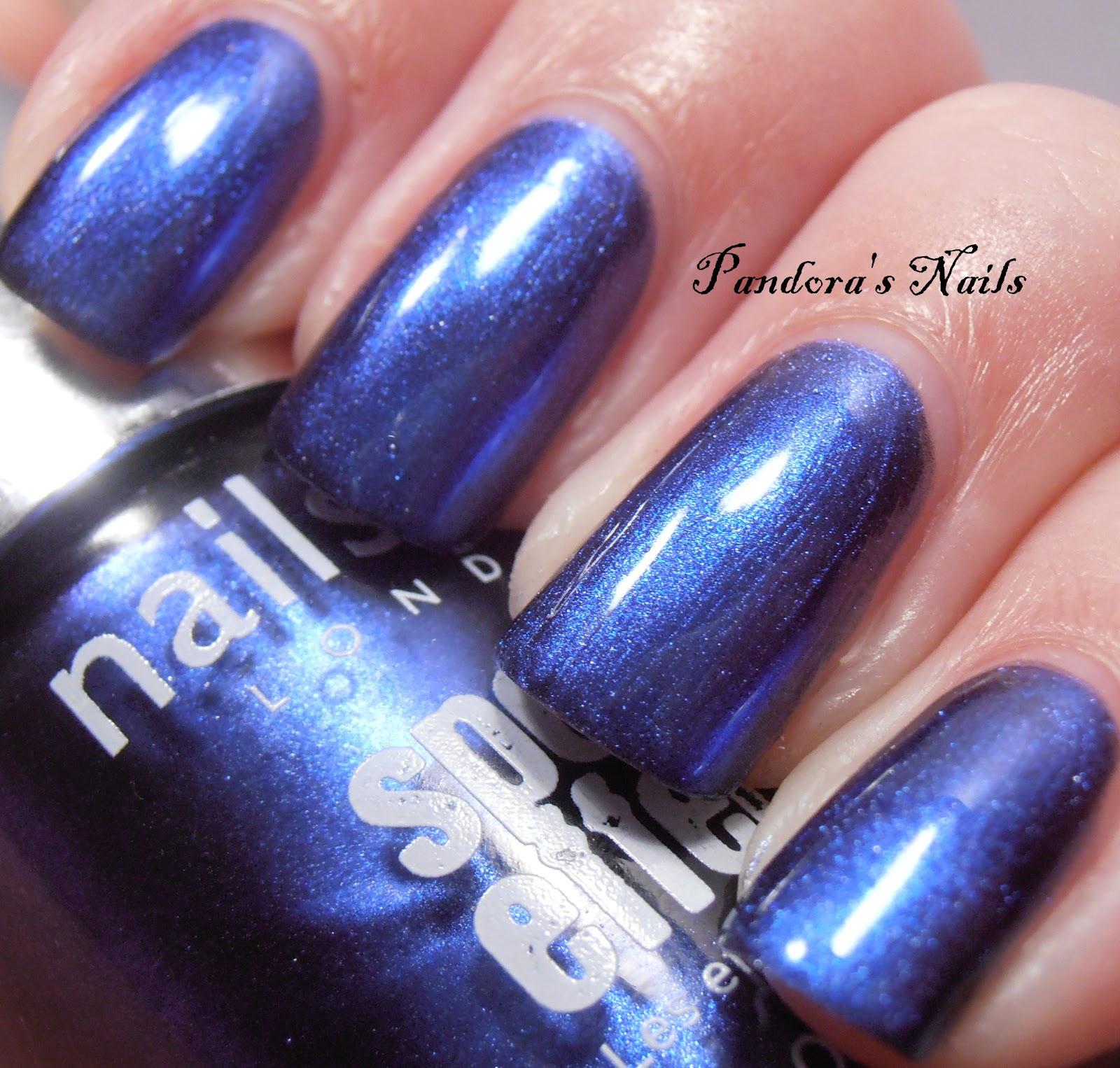 Pandora's Nails: Nails Inc Primrose Park Mirror Metallic