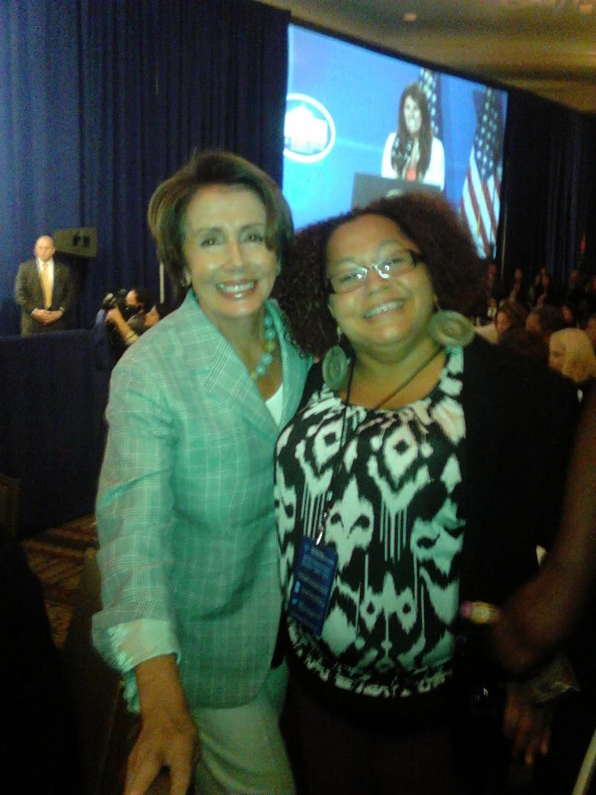 Brava & Former Speaker of The House Nancy Pelosi