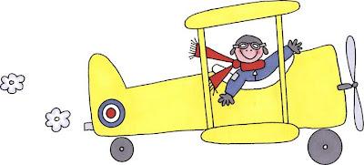 dibujos de avionetas para imprimir
