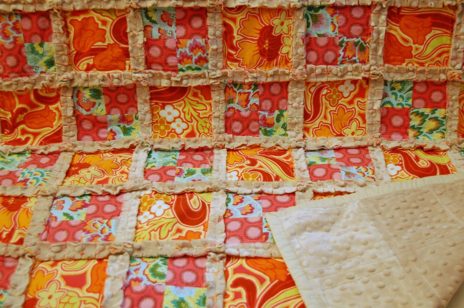 The Best Me: Making Room Phase 2 {Minky Rag Quilt} : rag quilt with cotton - Adamdwight.com