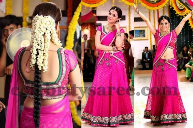 Nisha Agarwal in Silk Designer Blouse