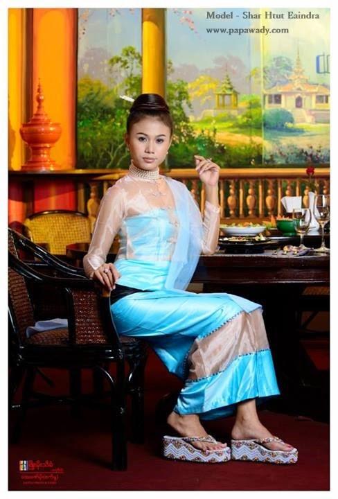 Shar Htut Eaindra - Myanmar Costume Fashion