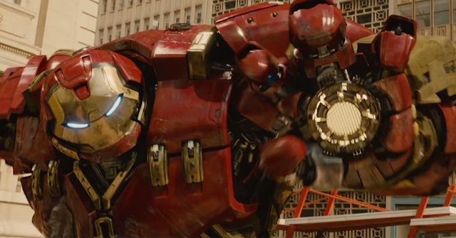 vingadores era de ultron - hulk buster