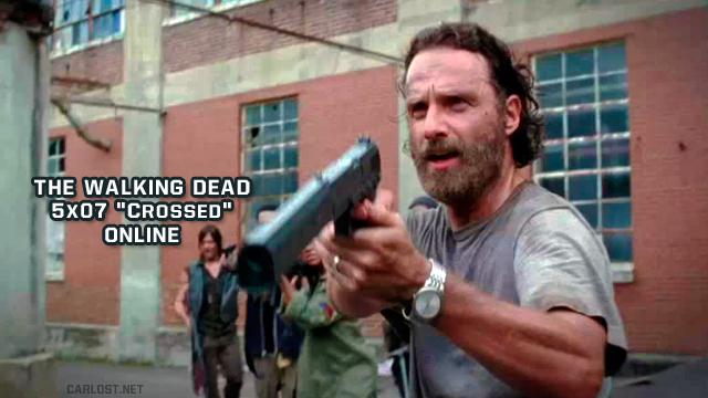 The Walking Dead 5x07 Crossed Online