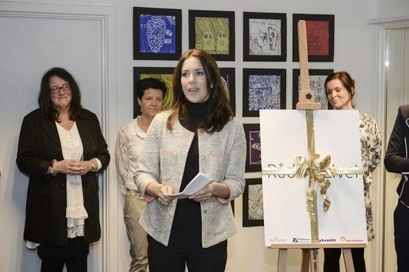Princess Mary Of Denmark Opens 'Rad Til Livet' In Aalborg
