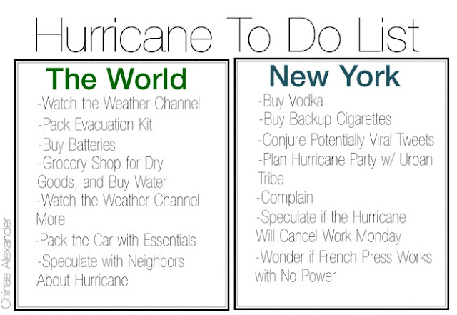 hurricane to do list
