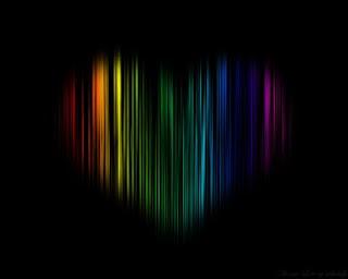 Wallpaper Cinta yang berwarna warni
