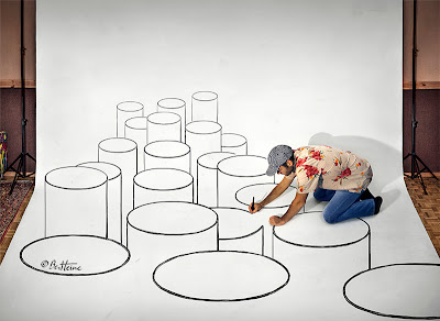 Ben Heine 3D Art - Making of