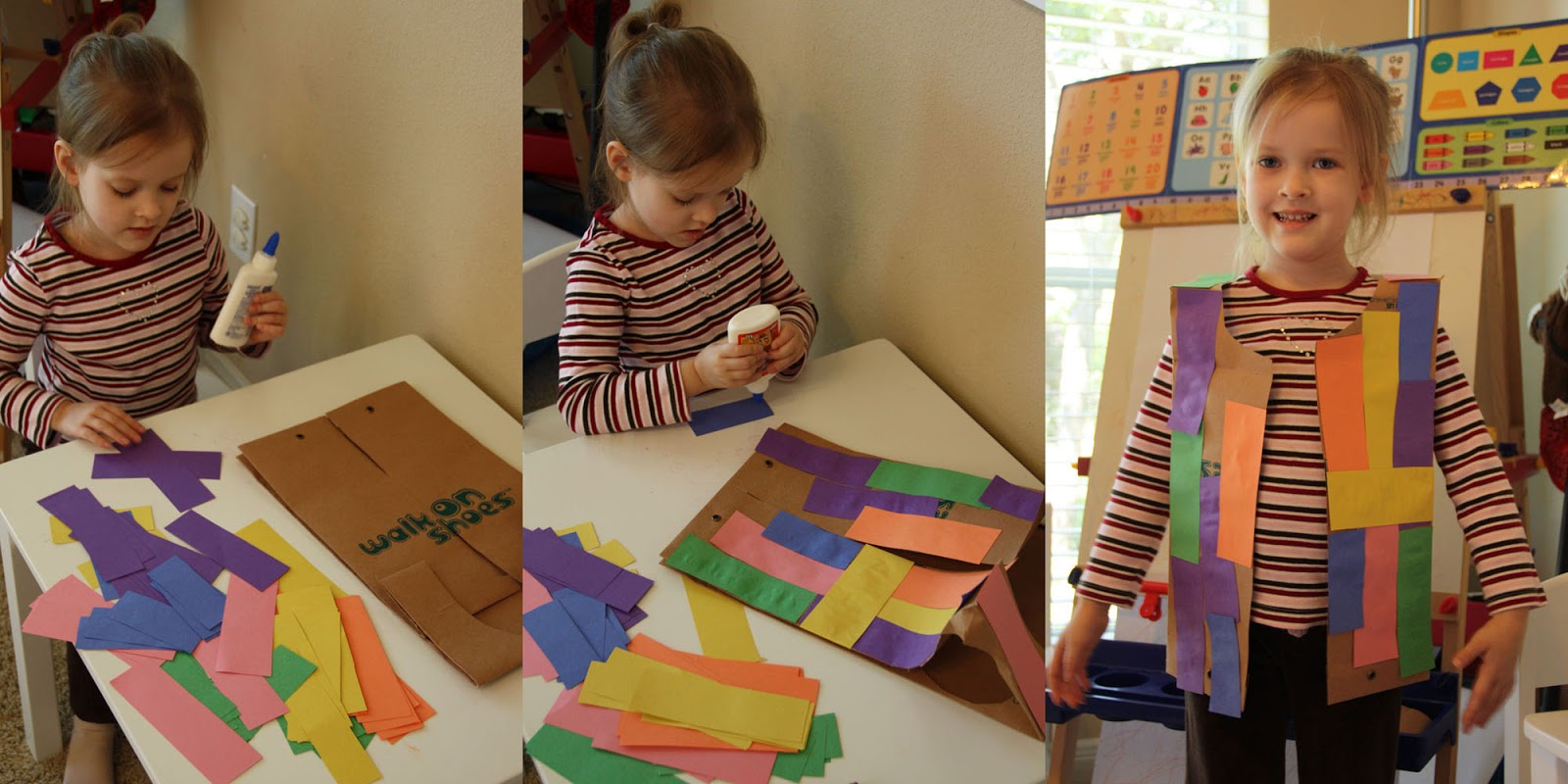 My Spare Time Preschool K3 Unit 17 Joseph Coat Of Many Colors Activity