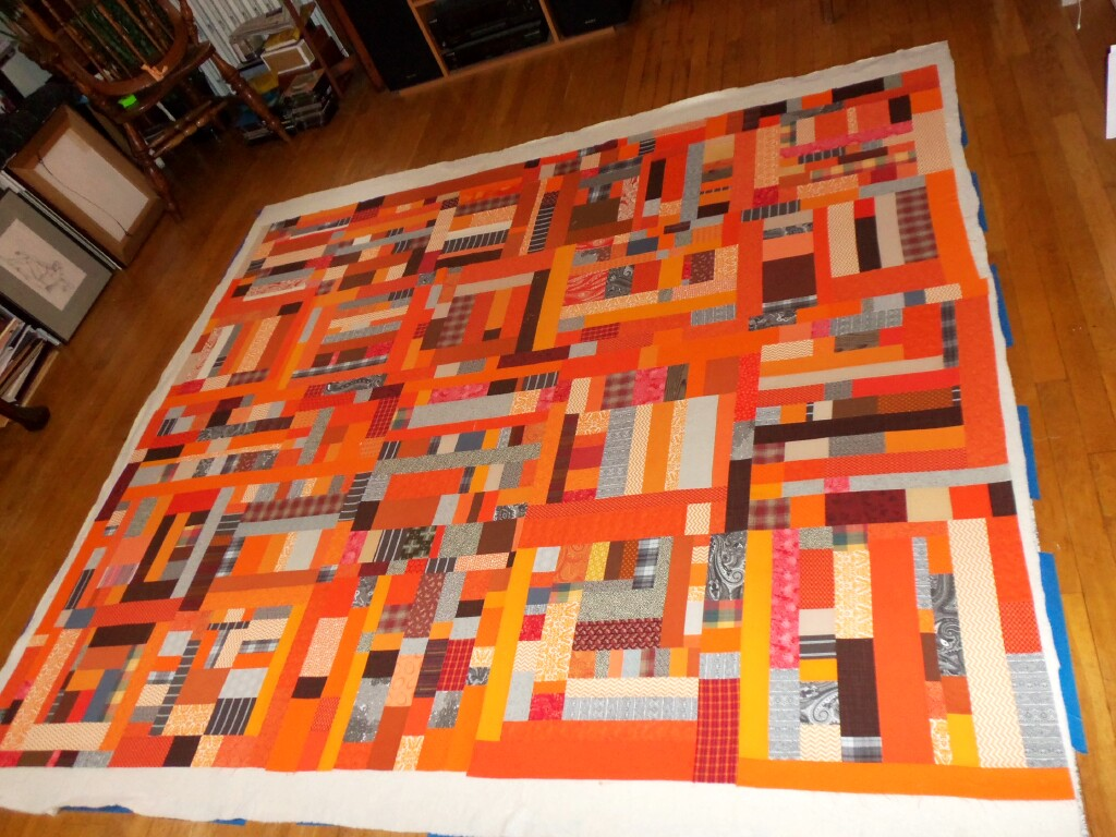 sandieslabel and orange web batik batiks purples the collection quilt