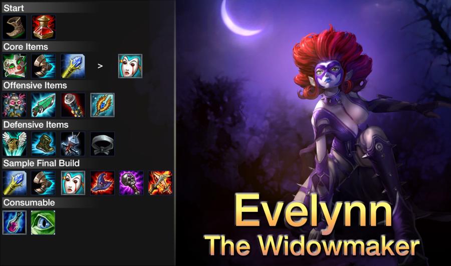 Build Evelyn Lol