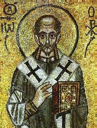 Patriarca de Constantinopla San Juan Crisóstomo