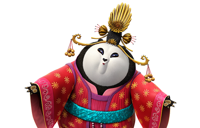A Quick Look at Kung Fu Panda 3 from Mei Mei the #Pandiva