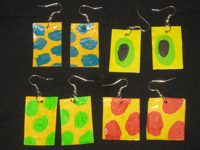 fused plasticbags/ fusade plastpåsar
