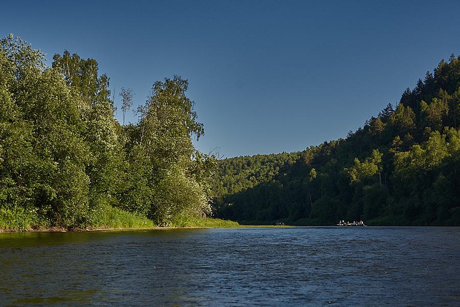 Сплав по реке Ай. День второй