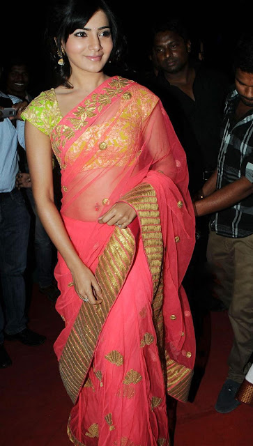 Samantha in saree stills