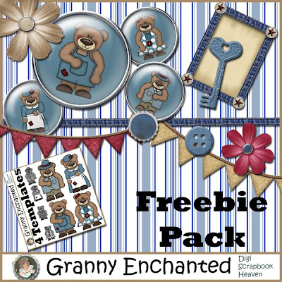 Free Beary Fine Element Pack 104