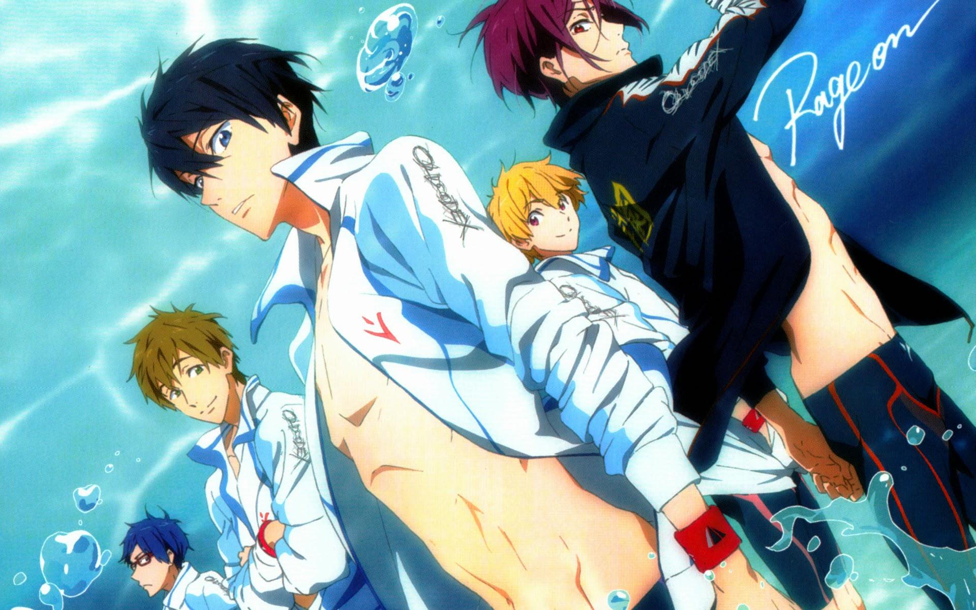 iwatobi swim club wallpaper - photo #4