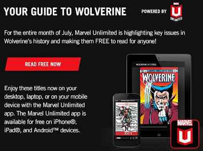 July is Wolverine month at Marvel Universe