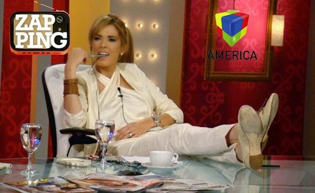 Zapping Viviana Canosa AmericaTV