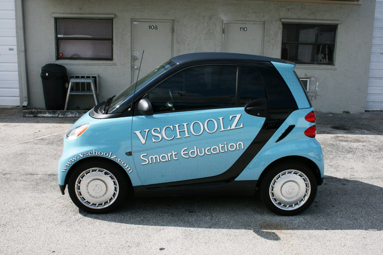 Smart Car Wrap Coral Springs FL For Vschoolz | 3M CERTIFIED Car Wrap  Solutions