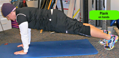 planks on hands