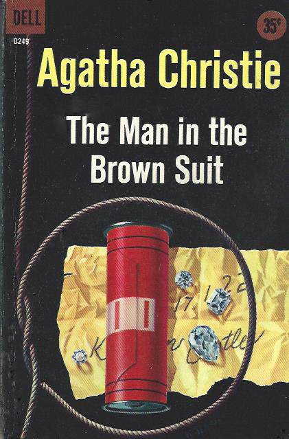 Bitter Tea and Mystery: The Man in the Brown Suit: Agatha Christie