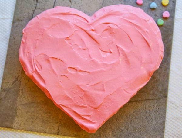 Heart Chocolate Gato Cake (Bánh Gato Trái Tim)