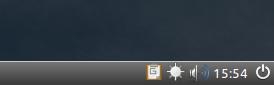 Controle de brilho ao lado do controle de volume - screenshot