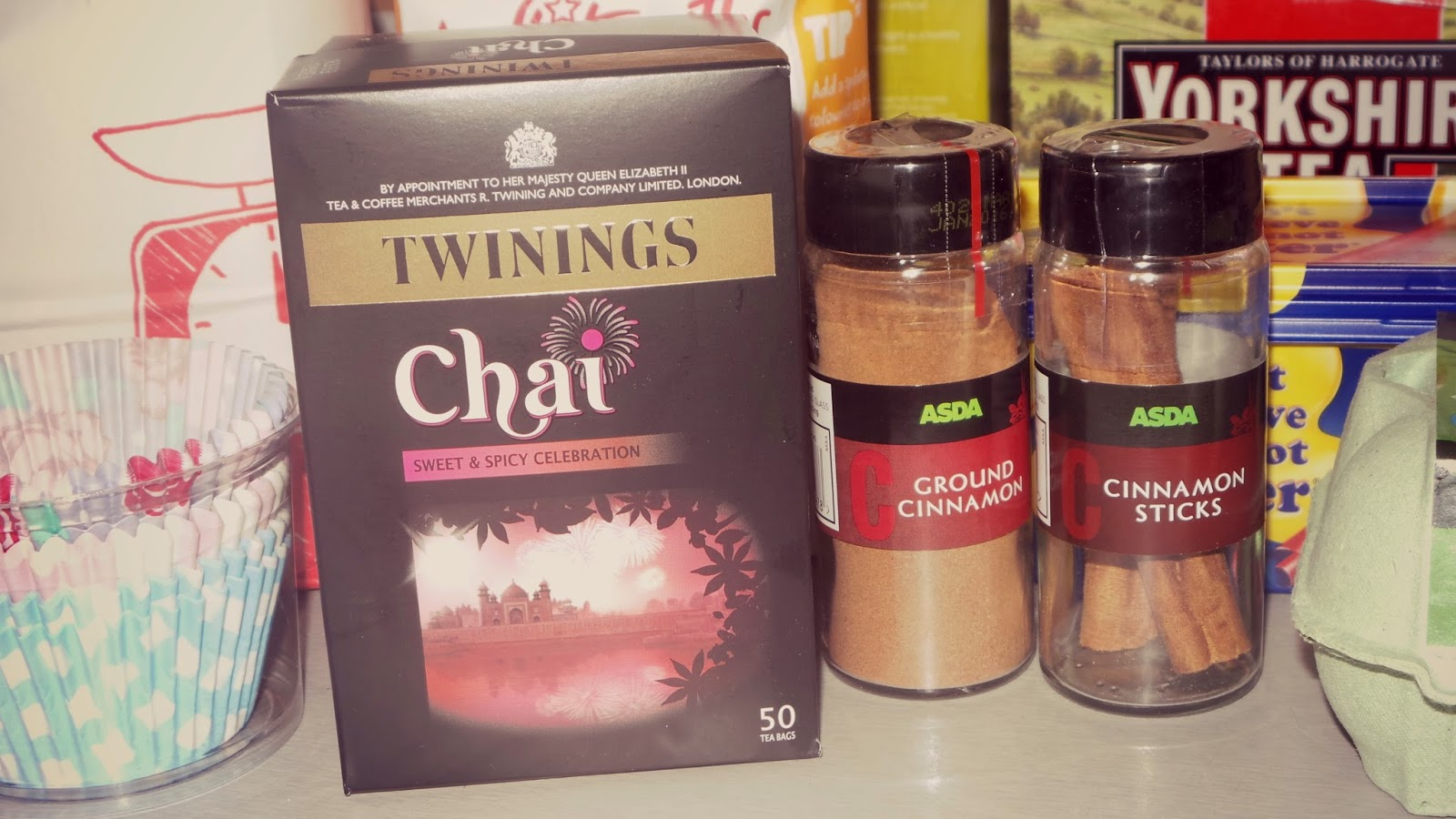 baking with real tea