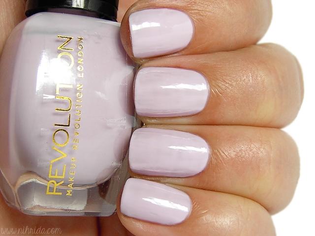 Makeup Revolution Nail Polish - Lilac Love