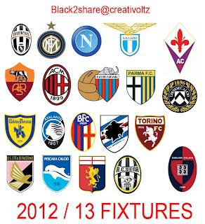 Kumpulan Logo Club Liga Italia Seria A Terbaru