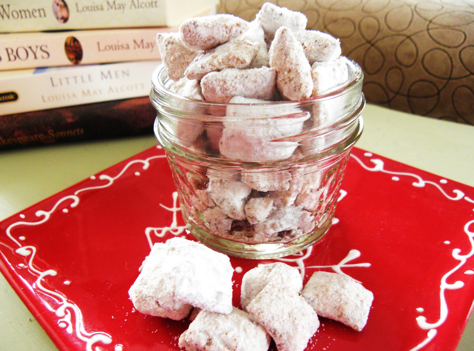 addicting nutella puppy chow christmas memories to share - Christmas Puppy Chow